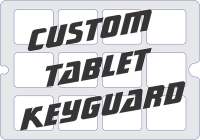 Custom Tablet Keyguard