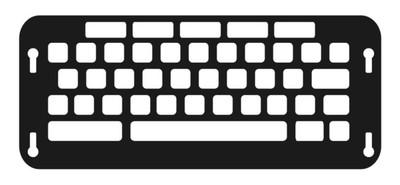 Co:Writer Keyboard Keyguard