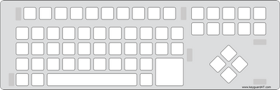 BigKeys LX Keyboard Keyguard (#578)