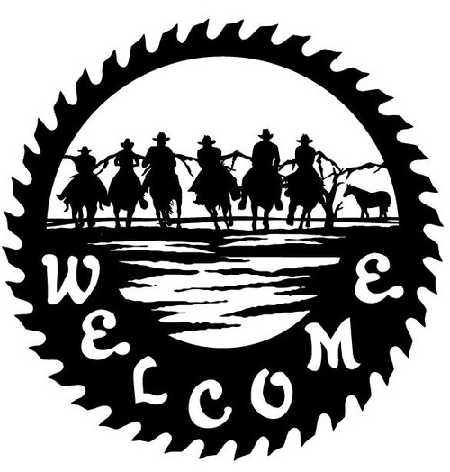 Welcome Sign Horses 2 (WS-2)