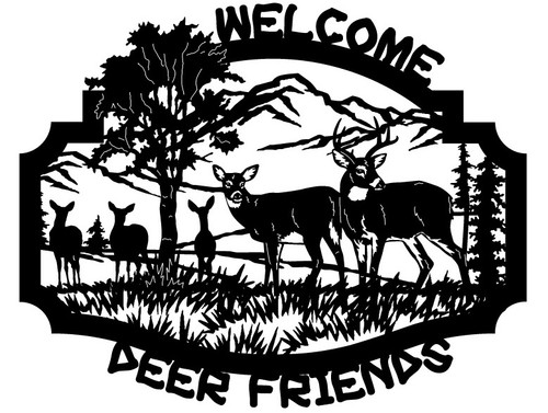 Welcome Deer Friends (WS-3)