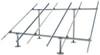 Solar panel ground mount IronRidge system