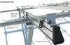 Solar panel ground mount IronRidge components