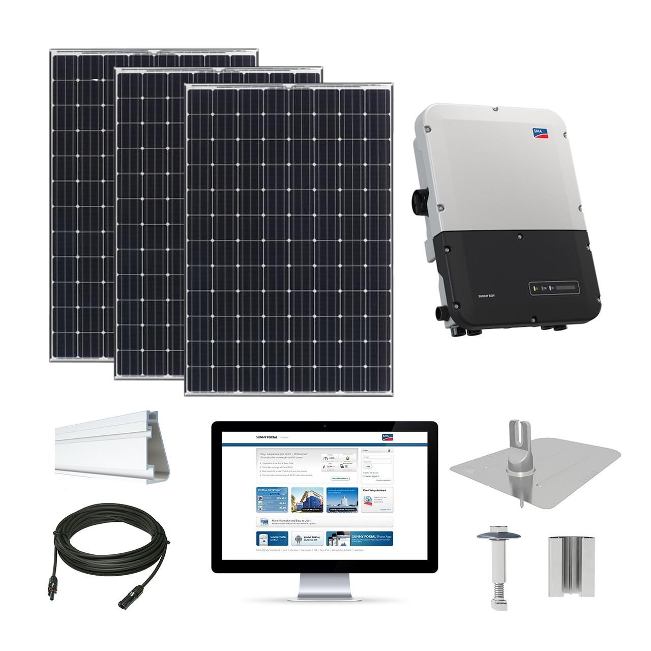 10 5kw Solar Kit Tesla 330 Sma Inverter Sc330