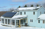 Do Solar Panels Work In The Snow?