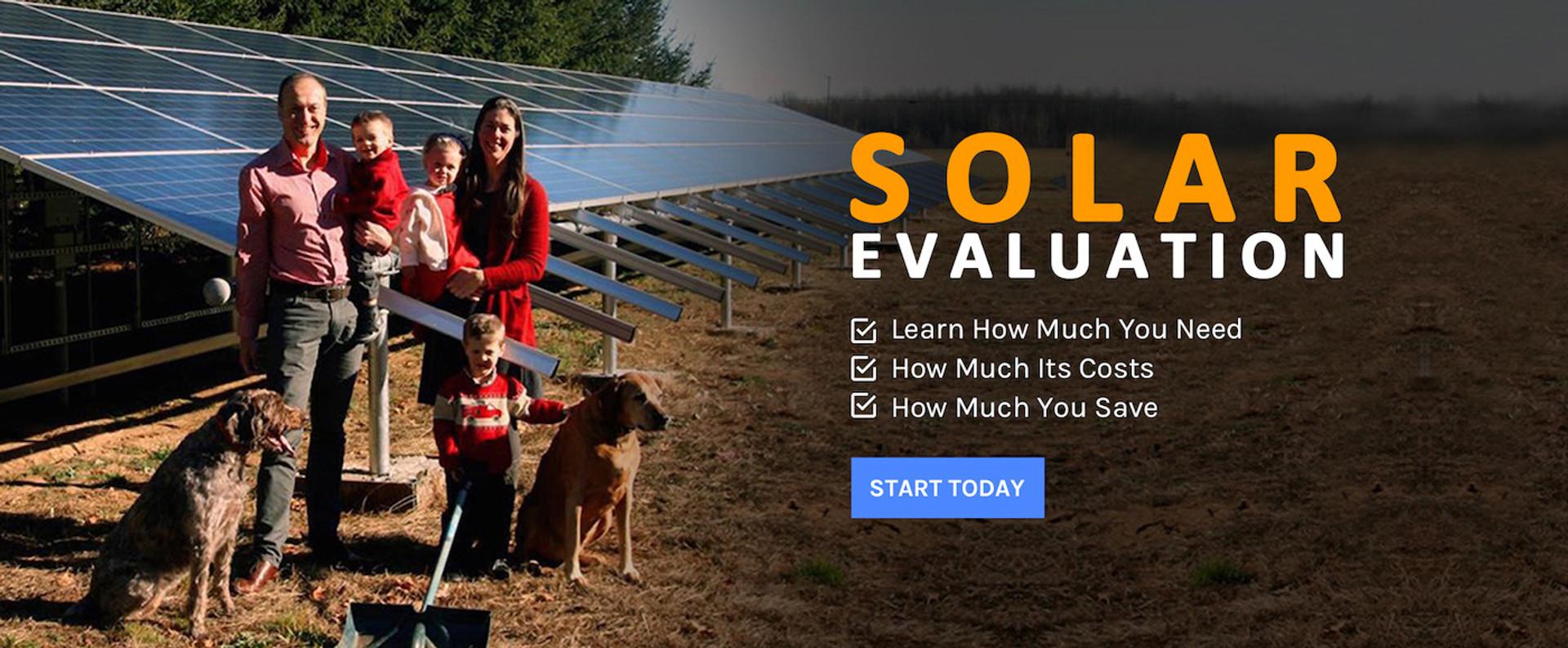 Free Solar Evaluation