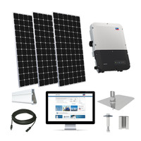 30kW solar kit CSUN 390 XL, SMA Sunny Boy (CSUN390-30kW-SMA