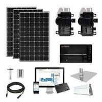 4kW solar kit CSUN 390 XL, Enphase micros (CSUN390-4kW-Enphase)