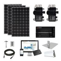 6.2kW solar kit CSUN 390 XL, Enphase micros (CSUN390-6kW-Enphase)