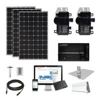 30kW solar kit CSUN 390 XL, Enphase micros (CSUN390-30kW-Enphase)