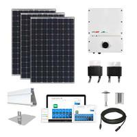 Tesla 330 SolarEdge Inverter Solar Kit