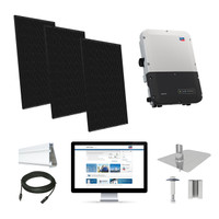 Q.Cells 320 Solar Kit with SMA Inverter