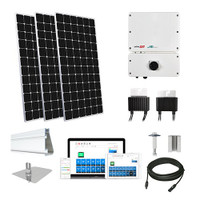 Mission 375 XL Solar Kit with SolarEdge HD Optimizers
