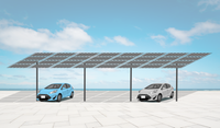 Solar carport mount 32 panels
