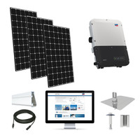 10.3kW solar kit LG 370, SMA inverter