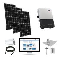11.1kW solar kit LG 370, SMA inverter