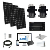 4.4kW solar kit LG 370, Enphase micro-inverters