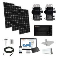 15.5kW solar kit LG 370, Enphase micro-inverters
