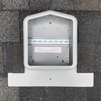 SolaDeck shingle rooftop enclosure flashing 0799-5G