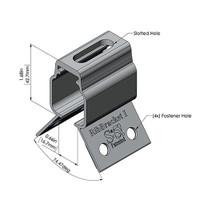 RibBracket I mount for corrugated metal roofs