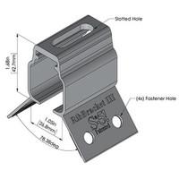 RibBracket III mount for corrugated metal roofs