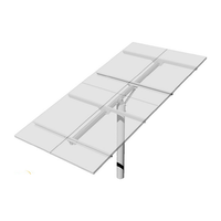Top-of-Pole Mount for 4 Type-H Modules