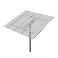 Top-of-Pole Mount for 6 Type-H Modules