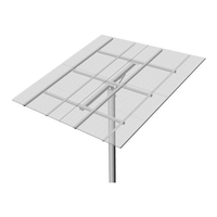 Top-of-Pole Mount for 8 Type-H Modules