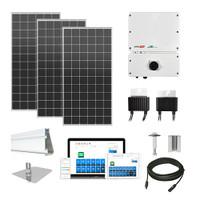 7.6kW solar kit Silfab 380 XL, SolarEdge HD optimizers
