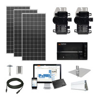 6kW solar kit Silfab 380 XL, Enphase Micro-inverter