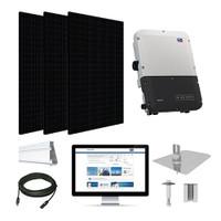 6.6kW solar kit Silfab 330 black, SMA inverter