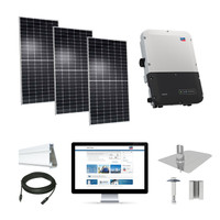 8kW solar kit Axitec 400 XL, SMA Sunny Boy inverter AC-400MH/144S