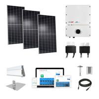 6kW solar kit Axitec 400 XL, SolarEdge HD optimizers AC-400MH/144S