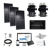 4kW solar kit Axitec 400 XL, Enphase Micro-inverter AC-400MH/144S