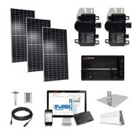 30kW solar kit Axitec 400 XL, Enphase Micro-inverter AC-400MH/144S