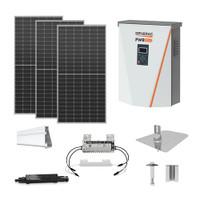 6.4kW solar kit Trina Solar 400 XL, Generac hybrid inverter