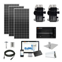 Mission 385 XL Enphase Inverter Solar Kit