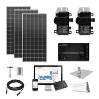 Mission 385 XL Enphase Inverter Solar Kit