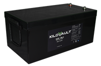 3.6 kWh KiloVault CHLX Cold-Rated Lithium LFP Solar Battery 12V KLV3600CHLX
