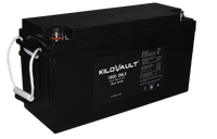 1.8 kWh KiloVault CHLX Cold-Rated Lithium LFP Solar Battery 12V KLV1800CHLX