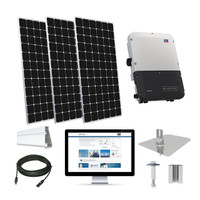 200kW solar kit Peimar 400 XL, SMA inverter