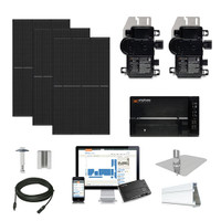 4.1kW solar kit Q.Cells 380 XL, Enphase Micro-inverter