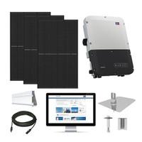 6.1kW solar kit REC 360 XL, SMA inverter
