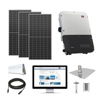 4.9kW solar kit Axitec 410 XL, SMA inverter