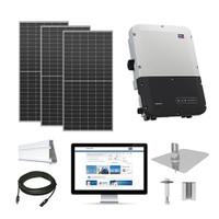 30.3kW solar kit Axitec 410 XL, SMA inverter