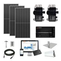 30.3kW solar kit Axitec 410 XL, Enphase Micro-inverter