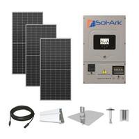 12.3kW solar kit Axitec 410 XL, Sol-Ark hybrid inverter