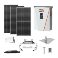 6.2kW solar kit Canadian 440 XL, Generac hybrid inverter
