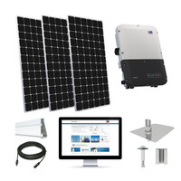 15.4kW solar kit LG 405 XL, SMA inverter