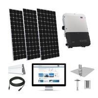 30.3kW solar kit LG 405 XL, SMA inverter